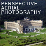 perspective aerial photography